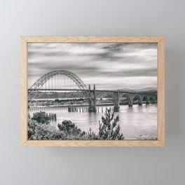 Yaquina Bay Bridge Framed Mini Art Print