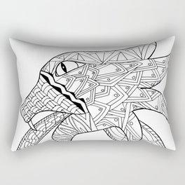 Viking Serpent Rectangular Pillow