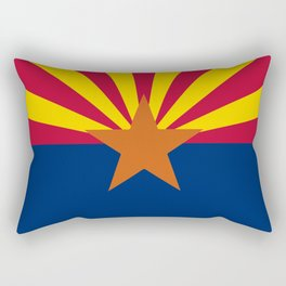 Arizona State Flag Rectangular Pillow
