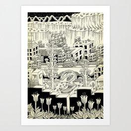 The Patrol Art Print