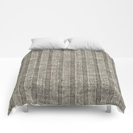 Soft Brown Jersey Knit Pattern Comforters