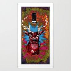 Deer is a sir Art Print