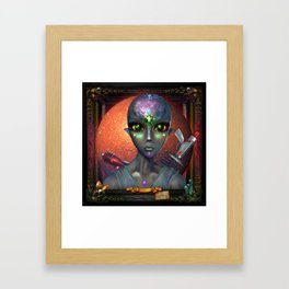 Princess Johanna Grey Framed Art Print