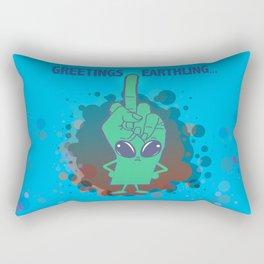 The Finger Alien #11 Rectangular Pillow