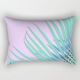 Palm in Lavender Rectangular Pillow
