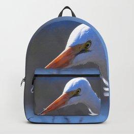 Great Egret Backpack