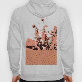 Dots and flowers Hoody
