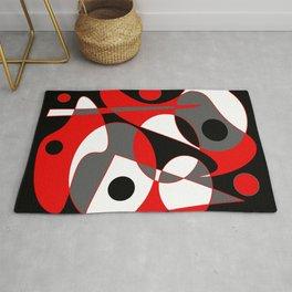 Abstract #855 Rug