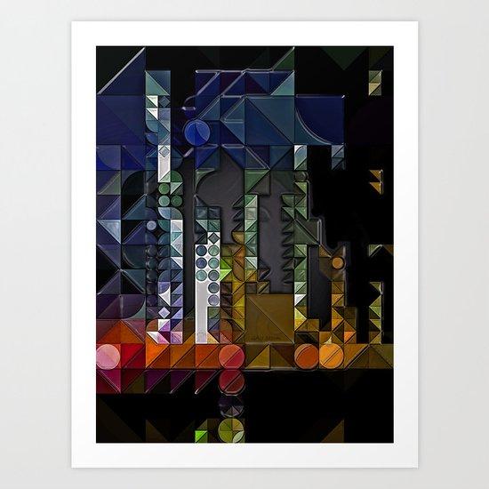 :: Signal :: Art Print