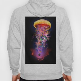 Electric Jellyfish In your Hands Hoody