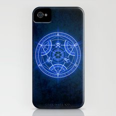 Human Transmutation Circle iPhone (4, 4s) Slim Case