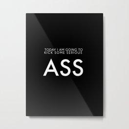 Kick Ass Metal Print