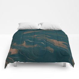 Abstract Astronomy in Sepia Comforters