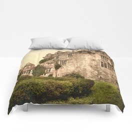 Vintage Photo-Print of Donegal Castle (1900) Comforters