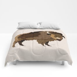 Buffalo Collage Comforters