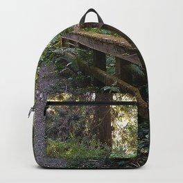 Moss Covered Handrail  Backpack