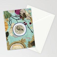 Mushroom Porridge  Stationery Cards