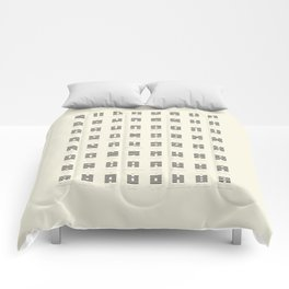 I Ching Chart With 64 Hexagrams (King Wen sequence) Comforters