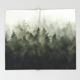 The Heart Of My Heart // Green Mountain Edit Throw Blanket