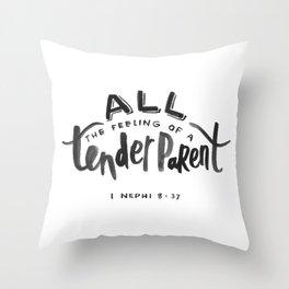 1 Nephi 8:37 Throw Pillow
