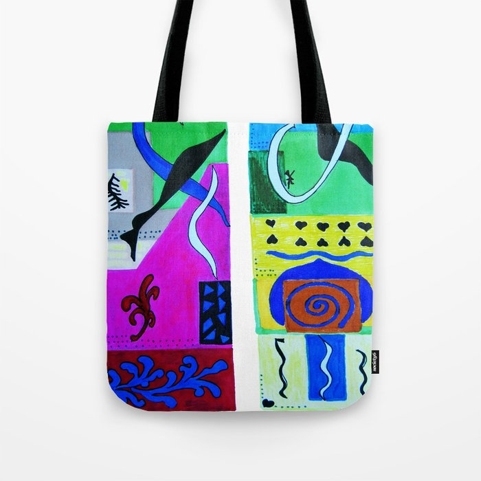 inspiration from Matisse . Gift Ideas for Him and Her / artwork Tote Bag