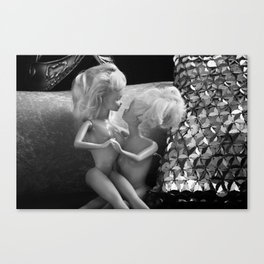 Girlfriends. Canvas Print