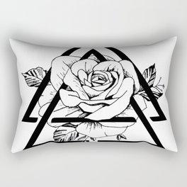 Gometric rose Rectangular Pillow