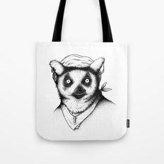 Hipster Lemur Tote Bag