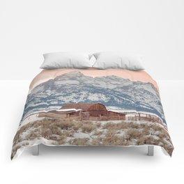 That Alpine Glow Comforters