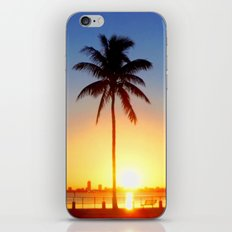 Miami Sunrise iPhone & iPod Skin