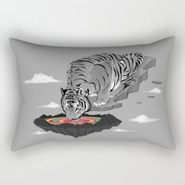 Thirst of Color Rectangular Pillow