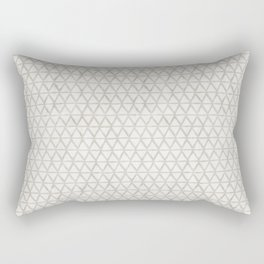 zigzag pattern tan Rectangular Pillow