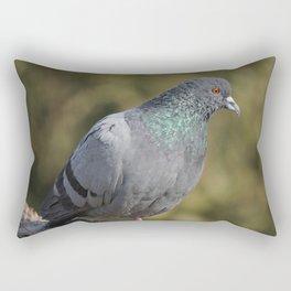 The great Indian pigeon Rectangular Pillow