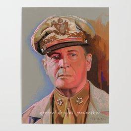General Douglas McArthur Poster