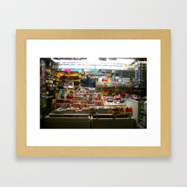 Times Square 2008 Framed Art Print