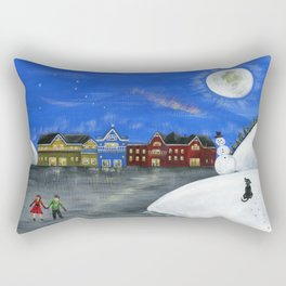 Hilly Hope Rectangular Pillow