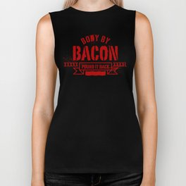 body by bacon Biker Tank