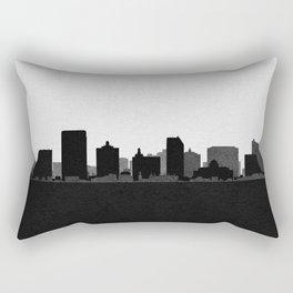 City Skylines: Atlantic City Rectangular Pillow