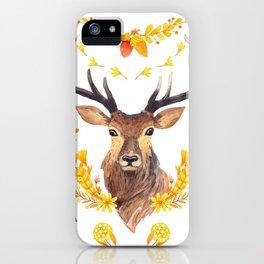 Autumn Deer iPhone Case