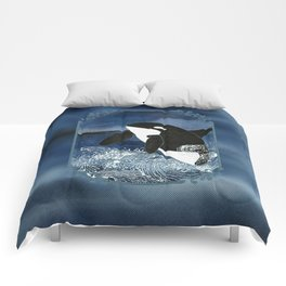 Killer Whale Orca Comforters