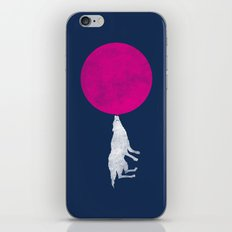 Bubble Moon iPhone & iPod Skin