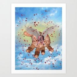 Rest in Paradise, Mac Art Print