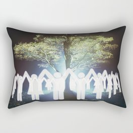 Light of the Tree Rectangular Pillow