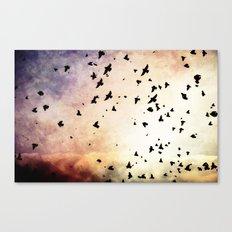 Bird's Flyin' High Canvas Print