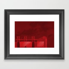 The Theatre of Dreams Framed Art Print