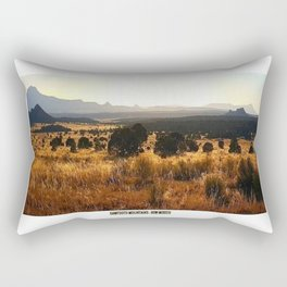 Sawtooth Mountains - New Mexico Rectangular Pillow