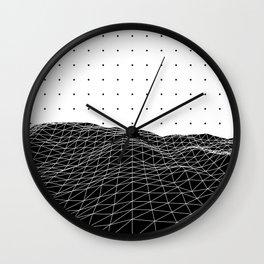 Terra Graphica Wall Clock