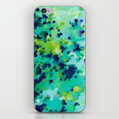 Aquamarine Addiction iPhone & iPod Skin