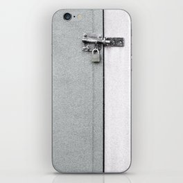 closed#04 iPhone Skin