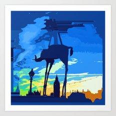 Salvador's Elephant Art Print
